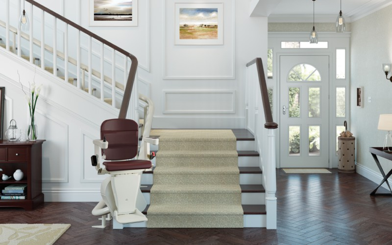 Curved Stairlift Cost in Devon