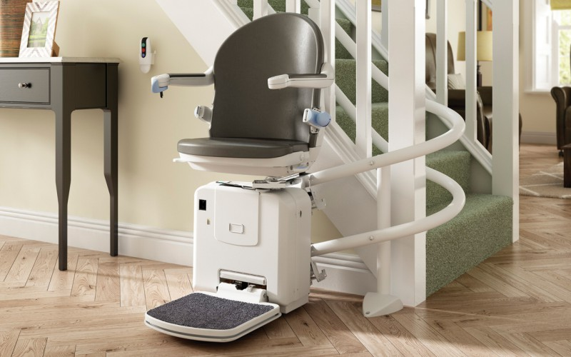 Curved Stairlift Installer Devon