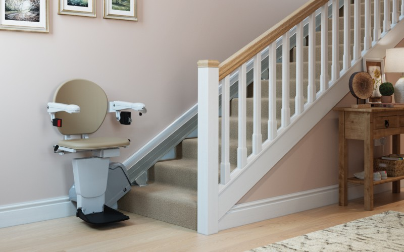 Straight Stairlift Cost in Devon