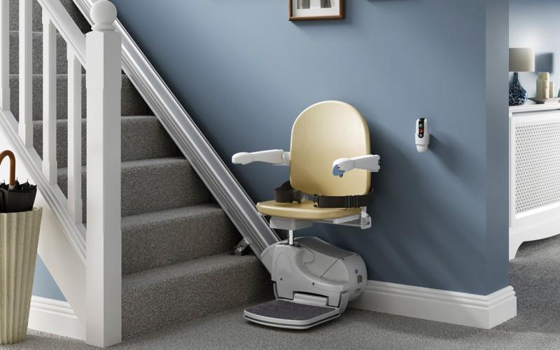 Straight Stairlift Installers in Newton Abbot, Torquay, Exeter, Plymouth, Barnstaple, Oakhampton, Honiton, Taunton, Devon