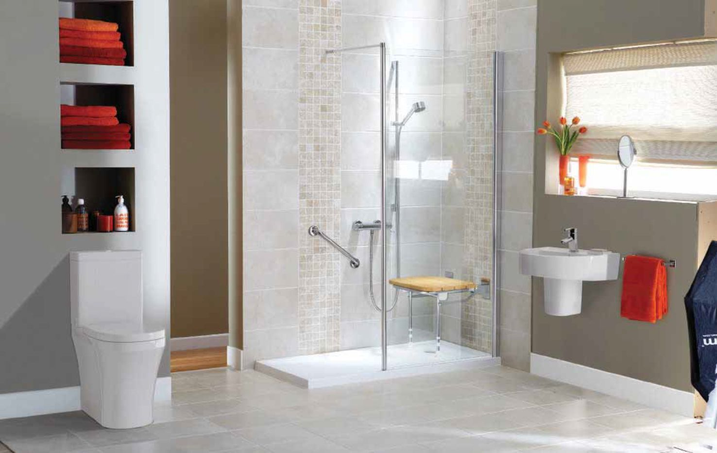Easy Access Shower Installer Devon