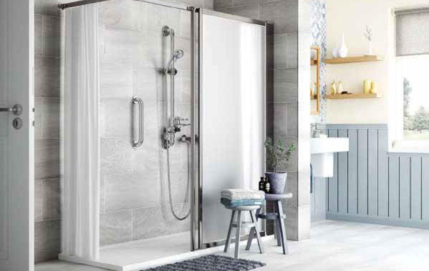 Easy Access Shower installation Devon